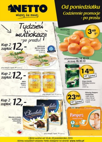 Netto od 14.10 do 20.10