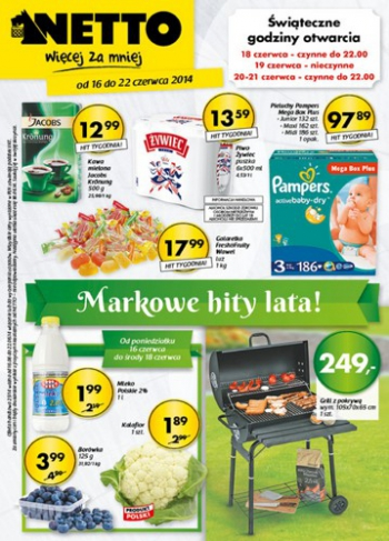Netto od 16.06 do 22.06