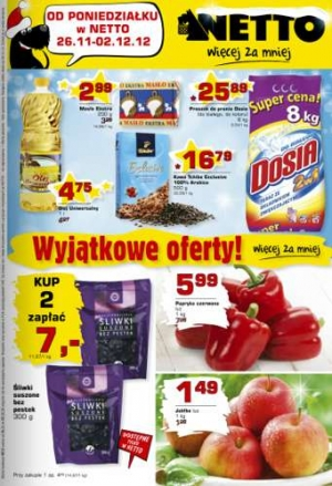Netto od 26.11 do 02.12
