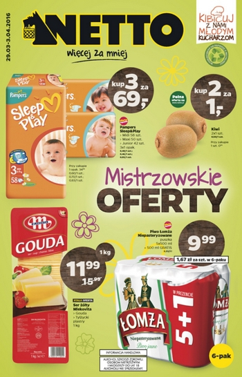 Netto od 29.03 do 3.04