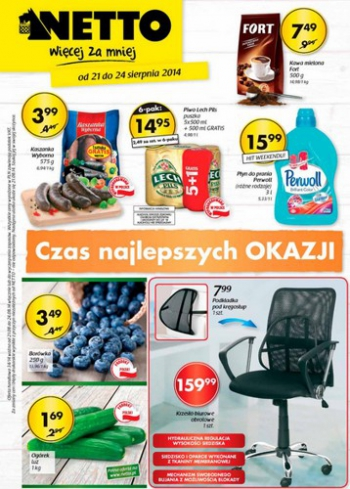 Netto od 21.08 do 24.08