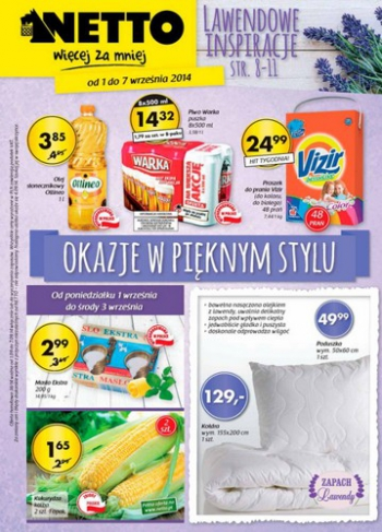 Netto od 1.09 do 7.09