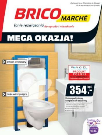 Bricomarche od 22.01 do 2.02