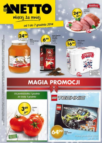 Netto od 1.12 do 7.12