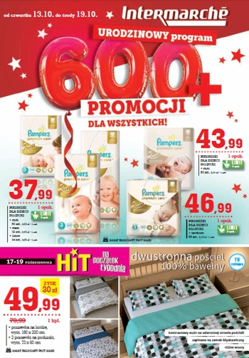 Intermarche od 13.10 do 19.10