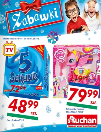 Auchan od 4.11 do 30.11