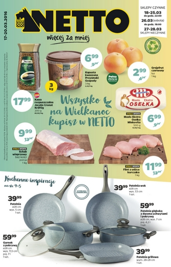 Netto od 17.03 do 20.03