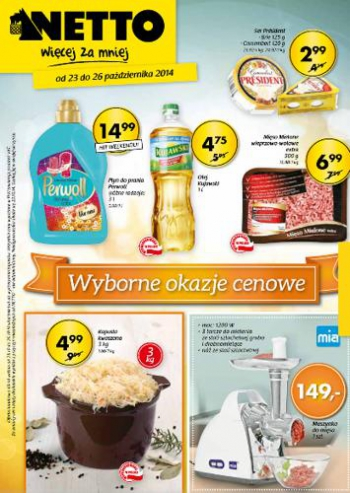 Netto od 23.10 do 26.10