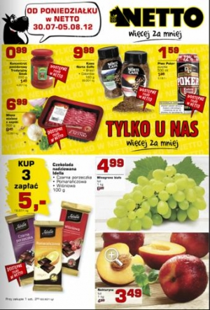 Netto od 30.07 do 05.08