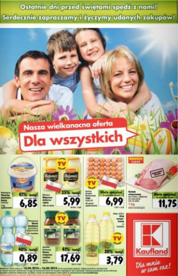Kaufland od 10.04 do 16.04