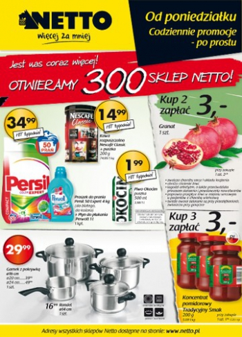 Netto od 21.10 do 27.10