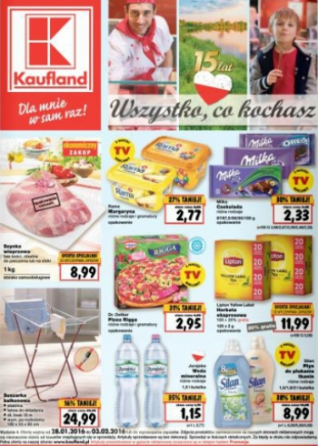 Kaufland od 28.01 do 3.02