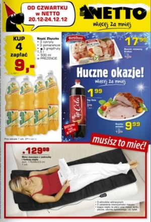 Netto od 20.12 do 24.12
