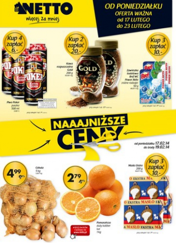 Netto od 17.02 do 23.02
