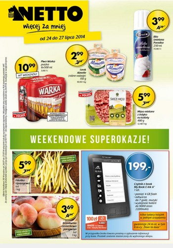Netto od 24.07 do 27.07
