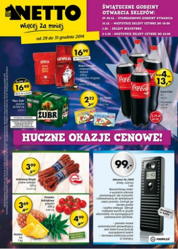 Netto od 29.12 do 31.12
