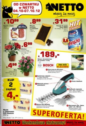 Netto od 04.10 do 07.10