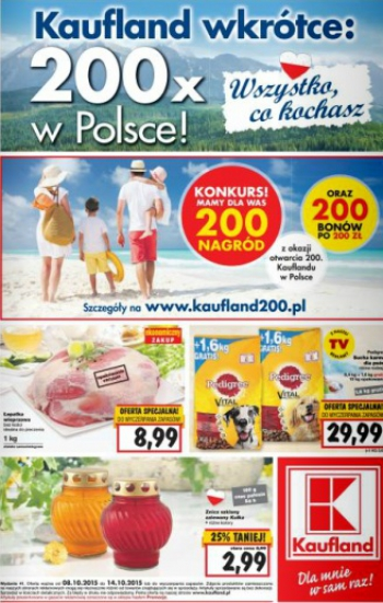 Kaufland od 8.10 do 14.10