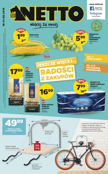 Netto od 18.08 do 21.08