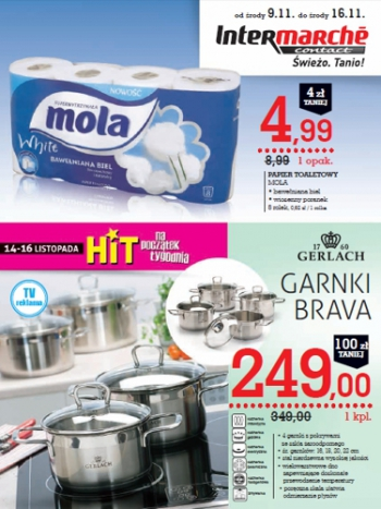 Intermarche od 9.11 do 16.11