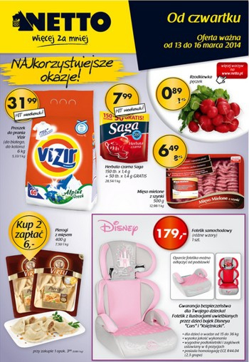 Netto od 13.03 do 16.03