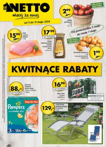 Netto od 5.05 do 11.05
