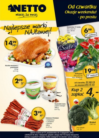 Netto od 31.10 do 3.11