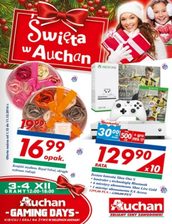 Auchan od 1.12 do 11.12