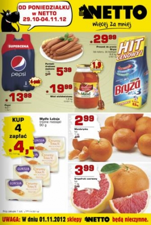 Netto od 29.10 do 04.11