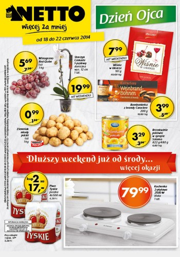 Netto od 18.06 do 22.06