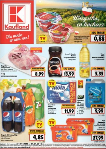 Kaufland od 21.01 do 27.01