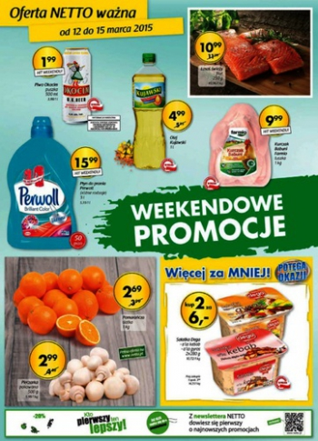 Netto od 12.03 do 15.03