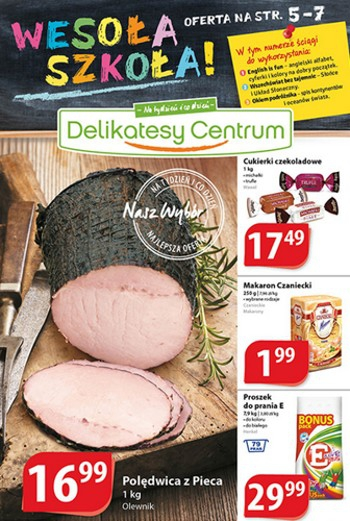Delikatesy Centrum od 14.08 do 20.08