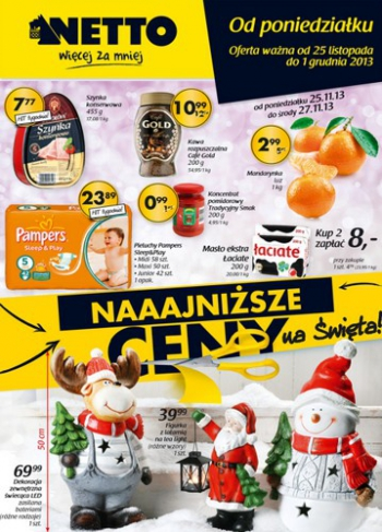 Netto od 25.11 do 1.12