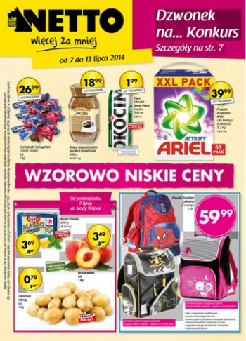 Netto od 7.07 do 13.07