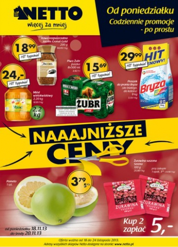 Netto od 18.11 do 24.11