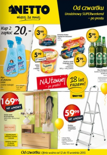 Netto od 12.09 do 15.09