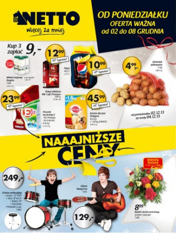 Netto od 2.12 do 8.12