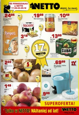 Netto od 17.09 do 23.09