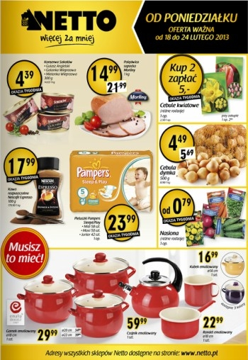 Netto od 18.02 do 24.02