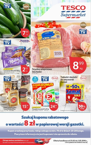 Tesco od 25.02 do 2.03