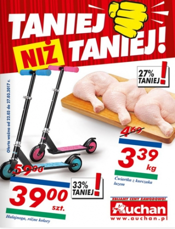 Auchan od 22.03 do 27.03