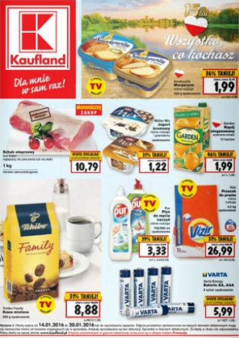 Kaufland od 14.01 do 20.01