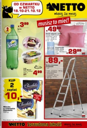 Netto od 18.10 do 21.10