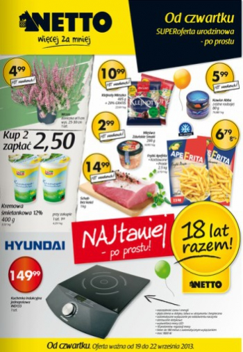 Netto od 19.09 do 22.09