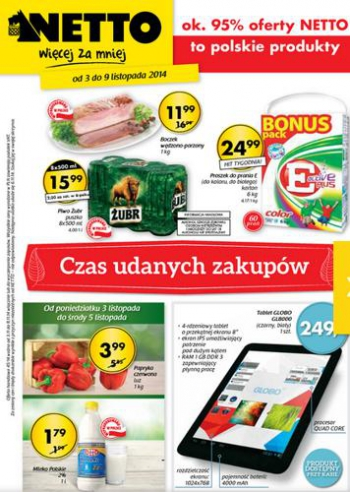 Netto od 3.11 do 9.11