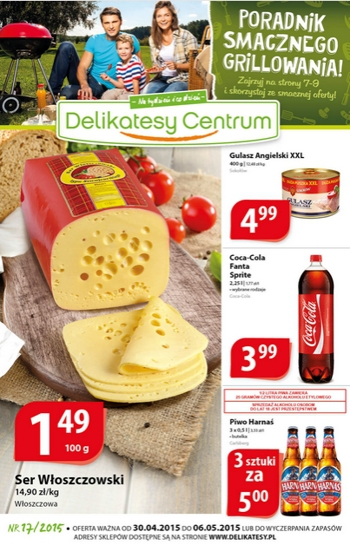 Delikatesy Centrum od 30.04 do 6.05