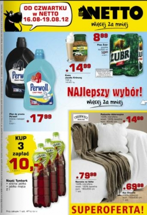 Netto od 16.08 do 19.08