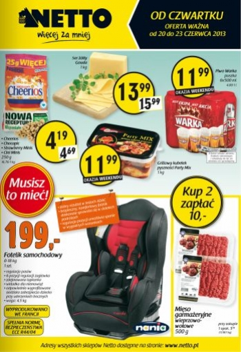 Netto od 20.06 do 23.06