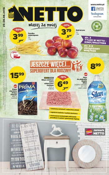Netto od 25.08 do 28.08